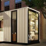 喫茶店のための現代プレハブモジュラー輸送箱の家