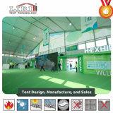 Hot Sale Halls d'exposition de couleur verte avec l'impression