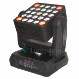 Großhandels-RGBW 25PCS 15W 4in1 LED Wäsche-Matrix-beweglicher Kopf