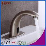 Acabamento Acetinado Fyeer misturador automático de água da torneira do Sensor