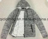 صنع وفقا لطلب الزّبون علامة تجاريّة رجل [هووي] مع غطاء وسحاب في رجل سترة صوفيّة ملابس [فو-8670]