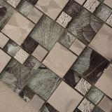 Мозаика смешивания металла украшения гостиницы стеклянная, плитка мозаики металла