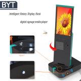디지털 Signage 로봇이 지 Bytcnc -1 광고 간이 건축물에 의하여 자전한다