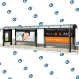Parada de autobús de la Vivienda para Publicidad