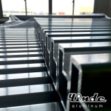 H-Forma de aluminio de extrusión de tubos para marco de la escalera