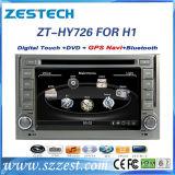 Bt/USB/RDS/SWC를 가진 Hyundai H1를 위한 차 DVD GPS 항해 체계