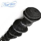 Ослабление высшего качества кривой перуанской Virgin волос человека