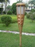 Lumière solaire en bambou de jardin (SW107)