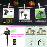 Multi Color Christmas Light, Cheap Garden Light, Laser Projector for Lawn, Tree, Seedling