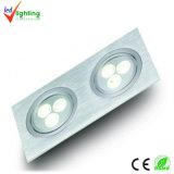 결합된 LED 아래로 가벼운 6W (DL-3X3X1W-YL2201)