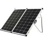 120W Painel Solar Dobrável Kits para camping com bujão de Anderson