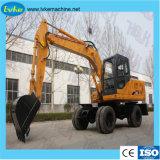 China-Marke Hblk 12 Tonnen-hydraulischer grabender Loch-Exkavator