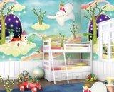 Moderno diseño hermoso papel de la pared para los niños''s Room