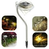 Luz psta solar do gramado do diamante do jardim (RS002)