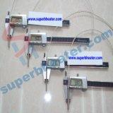 патронный электрический нагревательный элемент от 3mm до 23mm промышленный Swaged