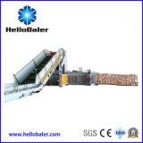 Hidráulico automático de los desechos de papel, cartón empacadoras Hfa10-14 con cinta transportadora