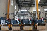 1000kgs de dubbele Apparatuur van de Bouw van de Wegwals van de Trommel Trillings (YZ1)