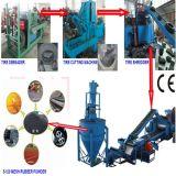 النفايات تدوير الاطارات المطاط آلة مسحوق / المطاط ماكينة
