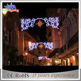 Réverbères commerciaux de motif de la décoration extérieure DEL de Noël