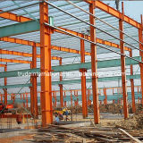 Gebouwen van de Structuur van het staal de Prefab/Geprefabriceerde die als Pakhuis/Workshop worden gebruikt