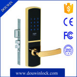 Fechamento de porta eletrônico do smart card da senha
