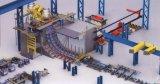 容易な操作のワンストップ機械Conticasterか鋼片の足車