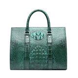 Borse di cuoio 2017 dell'estremità superiore della signora Brand Handbag Genuine Crocodile