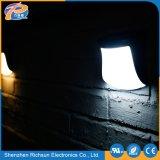 Lumière carrée extérieure imperméable à l'eau de mur du plastique DEL