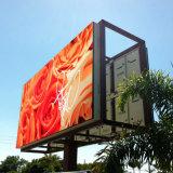 Commerical 도로 표지를 위해 게시판을 광고하는 최고 가격 P6 큰 옥외 LED