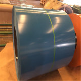 루핑을%s Prepainted 강철 코일 색깔에 의하여 입히는 강철 코일