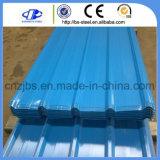 Цвет PPGI Prepainted гальванизированные листы Corrugated толя стальные