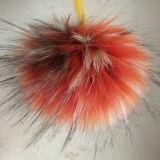 Grande sfera della pelliccia per il pendente del sacchetto della pelliccia del Raccoon di falsificazione del Beanie