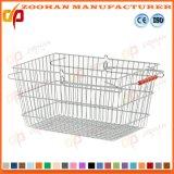 Корзина пикника покупкы супермаркета цинка или крома металла способа (Zhb125)