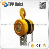 Élévateur manuel à chaînes de bloc à chaînes de Hsz G80 de chargement