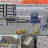 Automatischer konkreter Schaumgummi-Block, der maschinelle Herstellung-Zeile bildet