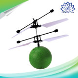 Children Toys를 위한 RC Flight Ball Flying Ball Induction Aircraft Light Mini Helicopter Toy Shine Musical