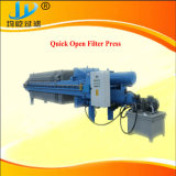 Imprensa de filtro hidráulico com a placa puxando One-Time