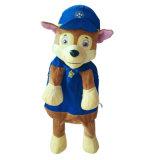 Patrulla de la pata de perro de dibujos animados de la bolsa de suave Peluche personalizado para niños