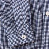 ばねまたは秋の100%年の綿の小さい男の子のワイシャツ