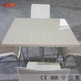 Muebles de comedor moderna encimera de mármol mesa de comedor