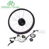 Зеленый Pedel G500s 48V 500 Вт 750W преобразования комплект для двигателя давление в шинах жира снега на велосипеде