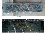 자연적인 베이지색 까만 대리석 새기는 벽난로 벽로선반 또는 주위 벽난로