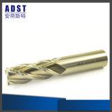 Fresa del carburo de la flauta sólida de Endmill 4 para las herramientas de corte