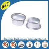 電子黒およびスライバ円形の金属アイレット