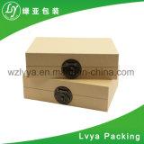 中国製卸し売り結婚祝いのための銀によってめっきされる金属の宝石類包装ボックス