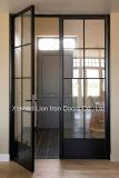 Из кованого железа во французском стиле Wholesales Доуле дверей простая конструкция