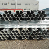 Fabricante China ASTM BS1387 Sch40 Extremo plano tubos de acero galvanizado