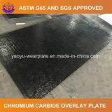 Высокая Chrome карбида вольфрама Hardfaced износной пластины