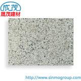 Flaches marmorndes Aluminiumblatt in der schwarzen weißen und grauen Mischfarbe