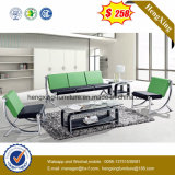$238 Cuir synthétique Modular Sectional sofa pour salle de séjour (HX-S3080)